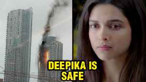 Deepika Padukone REACTS On Fire In Her Building BeauMonde Towers | Prabhadevi [Video]