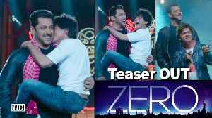 News video: ZERO Teaser OUT | Salman carries Dwarf Shah Rukh in his arms