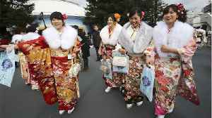 News video: Japan Is Lowering The Age Of Adulthood