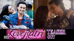 "News video: Salman Khan unveils ""LOVERATRI"" TEASER ,  asks ""Come Fall in Love"""