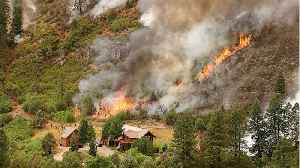 Wind And Dryness Threaten Wildfires Across 5 States