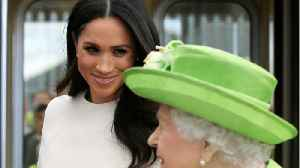 Meghan Markle's Takes First Solo Outing with Queen Elizabeth