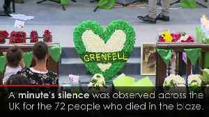 Victims of Grenfell Tower fire remembered one year on [Video]