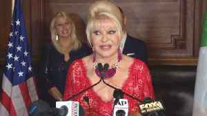 News video: Ivana Trump Unveils Low Calorie, Low-Carb 'Italiano Diet'