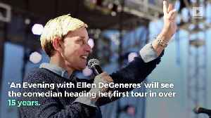 News video: Ellen DeGeneres Is Coming Back to Stand-Up Comedy