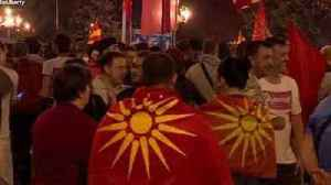 News video: Macedonians Protest Agreement to Change Country's Name