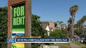 News video: Mayor to give plan on short-term rentals