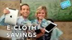 News video: Green Cleaning Cloth, Clean Home Or Windows With Hot Water ► The Deal Guy