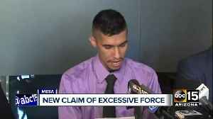 News video: Top stories: New claim of excessive force against Mesa PD; Shots fired at police during search warrant; New Johnson Utilities in