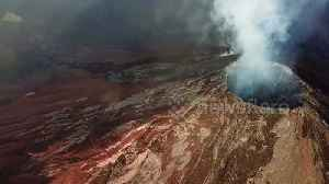 News video: One week on, aerials reveal desolate landscape from Guatemala eruption