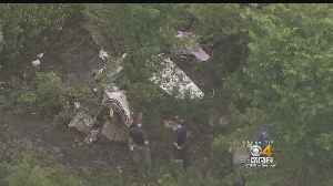 News video: Small Plane Bound For Hyannis Crashes In NJ, Killing Two