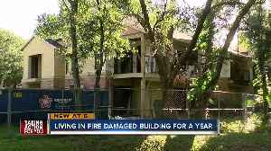 News video: Condo building not fully repaired nearly two years after a fire
