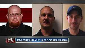 Coaches killed in Florida school shooting to receive ESPY awards