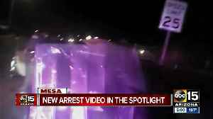 BODY CAMERA VIDEO: Mesa officer mocks bloody suspect after arrest
