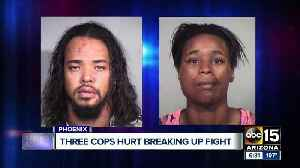 News video: Three Phoenix officers hurt during altercation with suspects, two arrested