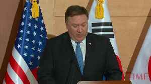Mike Pompeo In Seoul: South Korea, Japan Crucial To North Korean Denuclearization