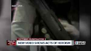 News video: Body cameras reveal 1 October heroics
