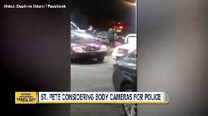 News video: St. Pete considering body cameras for police