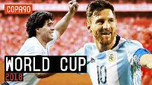 News video: Can Messi Step Out The Shadows Of Maradona With A World Cup Win?