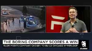 Chicago Picks Elon Musk's Boring Company For High-Speed Airport Link