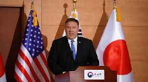 News video: No North Korea sanctions relief until complete denuclearisation, says Pompeo