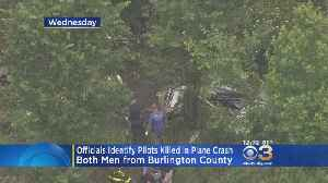News video: Two Victims Identified In Burlington County Small Plane Crash