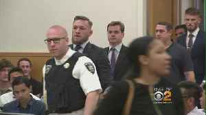 News video: MMA Star Conor McGregor In Plea Negotiations