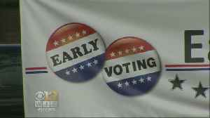 Early Voting For Maryland Primary Starts Thursday