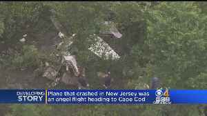 News video: Small Plane That Crashed En Route To Mass. Was 'Angel Flight'