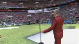 Robbie William's Divisive World Cup Opening Ceremony Performance [Video]