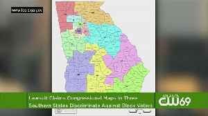 News video: Lawsuits: Congressional Maps Dilute Black Voters In 3 States