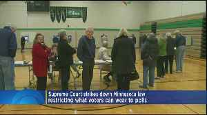 News video: Supreme Court Strikes Down Rule Restricting What Voters Can Wear