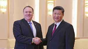 News video: Pompeo Visits China After Trump-Kim Meeting in Singapore