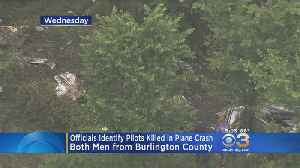 News video: Officials Identify Burlington County Pilots Killed In Plane Crash