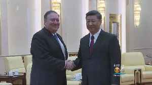 News video: Sec. Pompeo Met With Foreign Leaders On North Korean Negotiations
