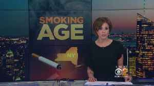 News video: Push To Raise Smoking Age In New York State