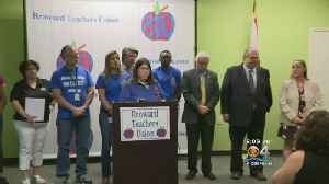 News video: Broward Teachers Ask Gov. Scott To Stop Investing Pension Funds Into Gun Manufacturing