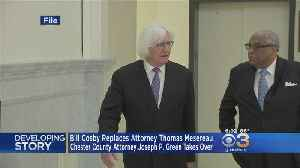 News video: Spokesman: Bill Cosby Fires High-Powered Legal Team, Refutes Camille Cosby Divorce Reports