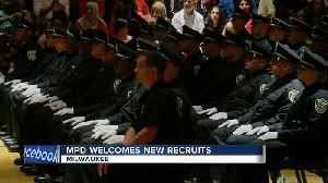News video: Milwaukee Police Department graduates new recruits