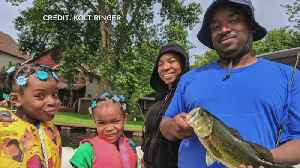 News video: Service Members, Vets Go Fishing On Flag Day