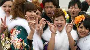 News video: Japan Lowers Legal Age of Adulthood