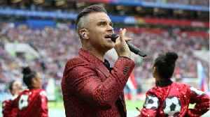 News video: Fox Apologizes For Robbie William's World Cup Performance