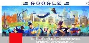 News video: Google Doodle Celebrates The Spirit Of Fifa World Cup