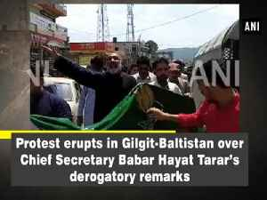 Protest erupts in Gilgit-Baltistan over Chief Secretary Babar Hayat Tarar's derogatory remarks [Video]