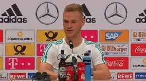News video: Germany's Kimmich living the dream, not trying to be Lahm 2.0