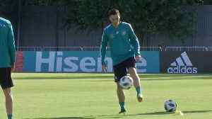 News video: Germany train two days ahead of their first World Cup match