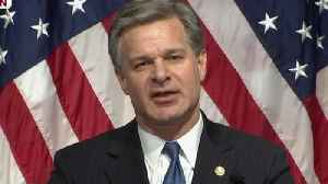 News video: FBI Director Christopher Wray responds to Inspector General report