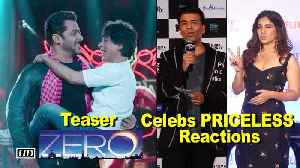 ZERO Teaser – B'wood Celebs PRICELESS Reactions [Video]