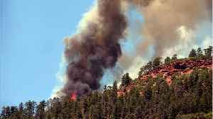 News video: Wildfires In Colorado Are Unrelenting