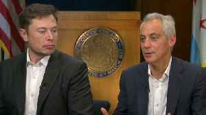 Elon Musk, Rahm Emanuel address skeptics of high-speed Chicago train